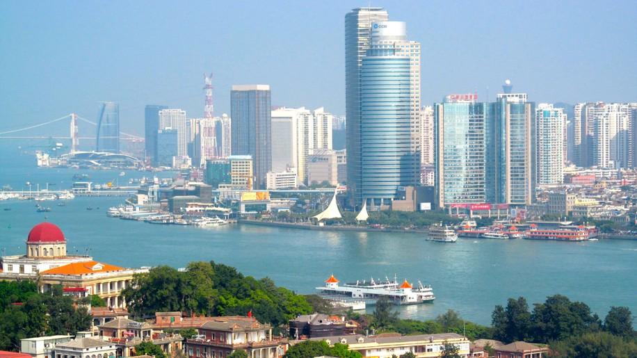 Xiamen from Gulangyu island