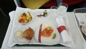 Ethiopian Airlines business class Cloud 9 starter