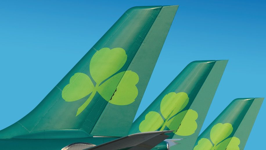 Aer Lingus A330 Tailfins Blue (2)