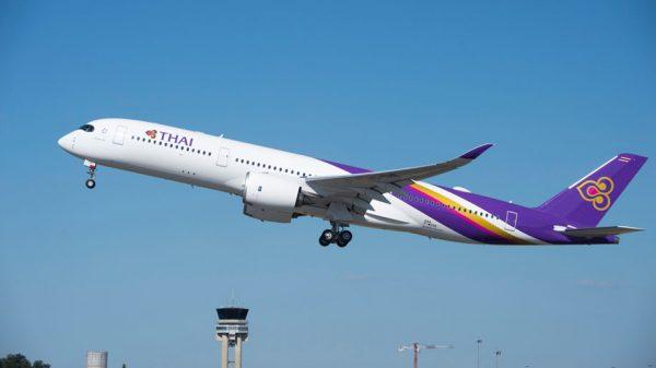 Thai Airways A350XWB delivery