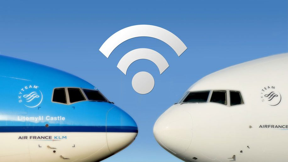 Air France-KLM wifi with Gogo 2Ku