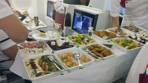 Austrian Airlines business class long-haul starter selection