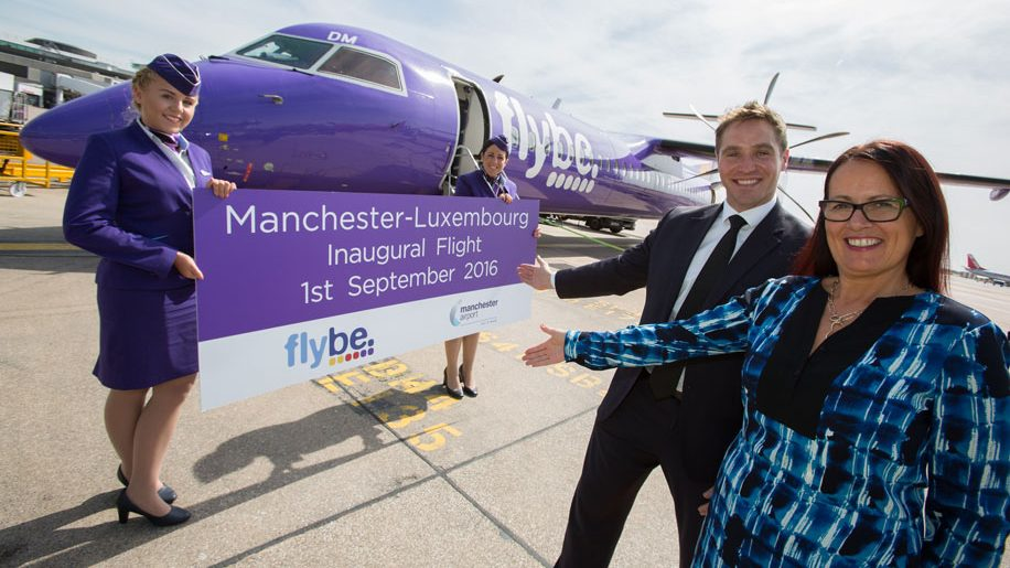 Flybe launches Manchester-Luxembourg service