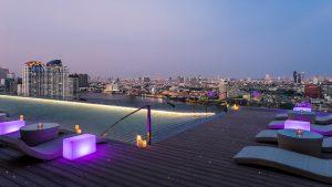 Infinity pool at AVANI Riverside Bangkok
