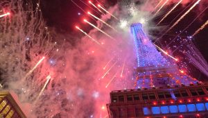 The Parisian Macao Grand opening firework display