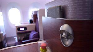 Thai Airways A350 side table
