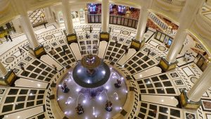 The Parisian Macao Lobby from above