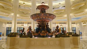 The Parisian Macao Lobby fountain