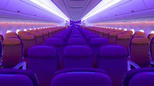 Thai Airways A350 economy cabin
