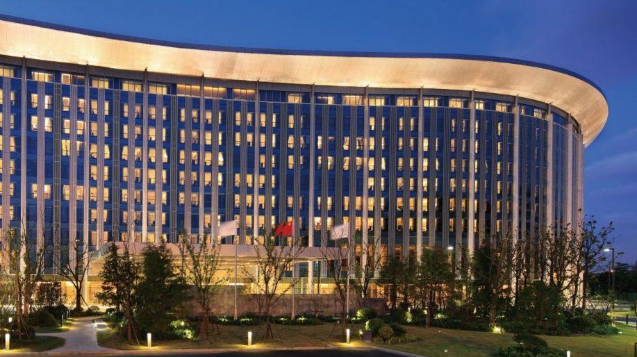 Intercontinental Shanghai NECC hotel exterior