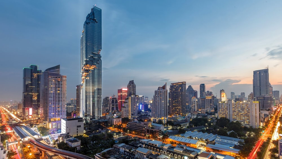 MahaNakhon Tower Bangkok. Credit: MahaNakhon by Pace Development Corporation Plc
