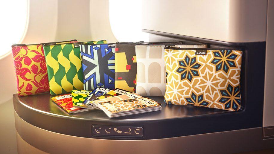 Etihad Airways amenity kits