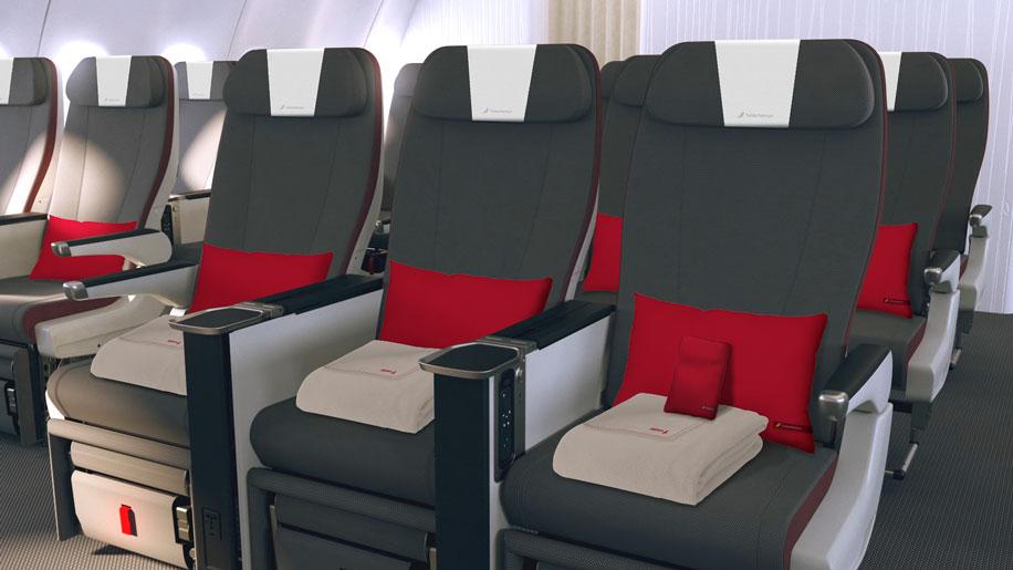 Iberia premium economy seat