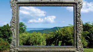 A picture-perfect view at the Arataki Visitor Centre