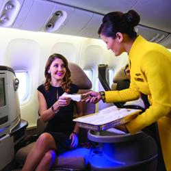 Jet AIrways business class