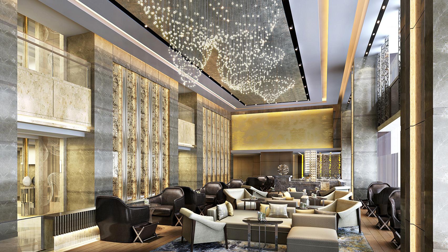 JW Marriott Chengdu lobby lounge