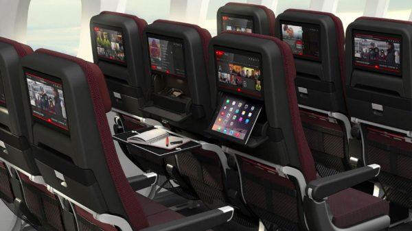 Qantas B787-9 economy seat