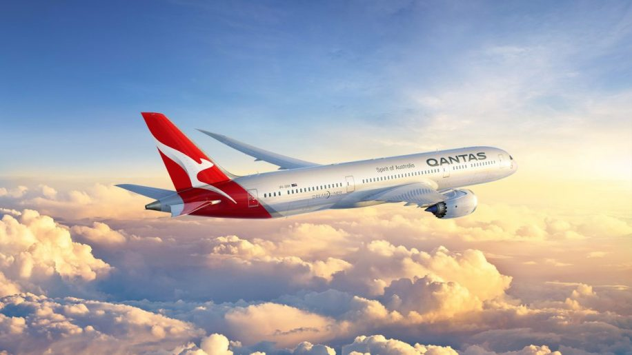 Qantas new logo