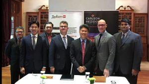 Radisson RED Kuala Lumpur City Center signing at HICAP