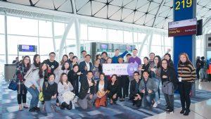 The launch of HK Express' new Hong Kong-Chiang Rai twice weekly route