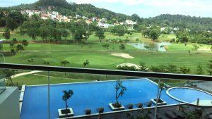 Radisson Golf & Convention Center Batam balcony view