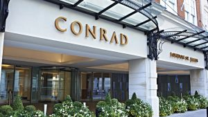 Conrad London St. James Facade