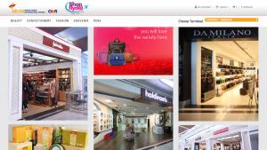 Delhi Airport e-commerce