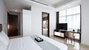 Oakwood Suites La Maison Jakarta Three-Bedroom Master
