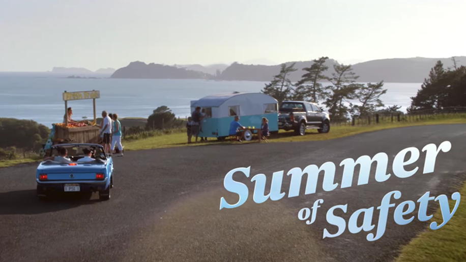 Air New Zealand's Summer of Safety in-flight video