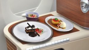 Thai Airways' New Year's desserts