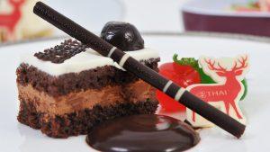 Thai Airways' New Year's dessert