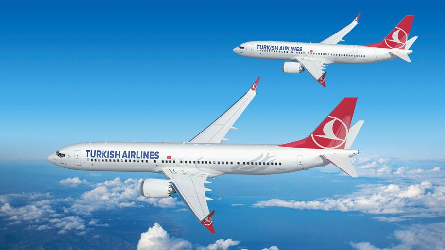 Turkish Airlines B737 Max