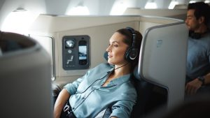 Cathay Pacific A350-900 business class