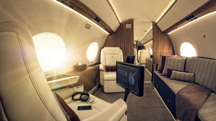 Qatar Executive Gulfstream 650ER
