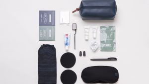 American Airlines Intl Business Class amenity kits