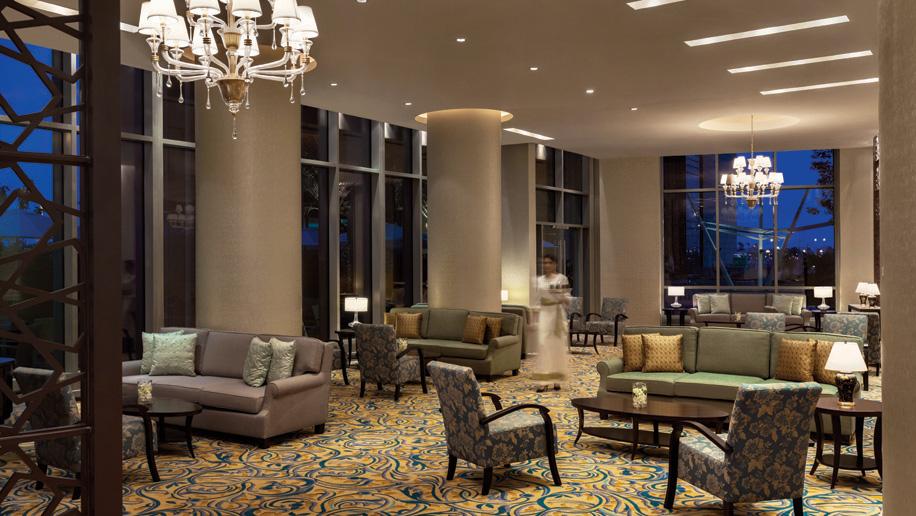 Shangri-La Hotel, Doha lobby lounge