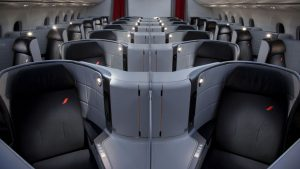 Air France B787-9 business class