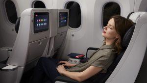 Air France B787-9 premium economy