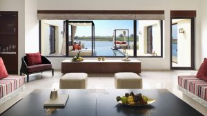 Al Baleed Resort Salalah by Anantara - Lagoon View Infinity Pool Villa Lounge