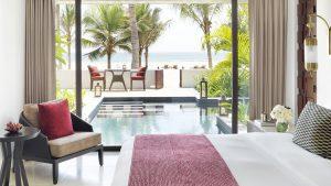 Al Baleed Resort Salalah by Anantara - One Bed Beach View Pool Villa Bedroom