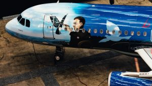 Brussels Airlines' A320 Magritte livery