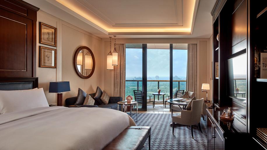 hainan gets new golf themed ritz carlton hotel business traveller