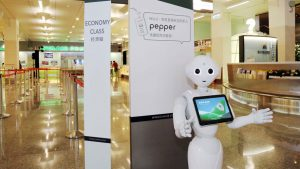 EVA Air unveils Pepper the robot