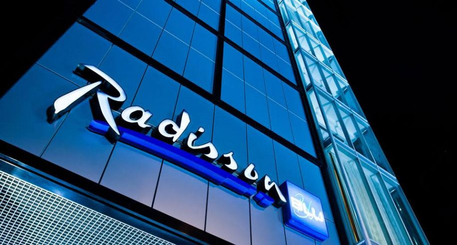 Exterior of a Radisson Blu property