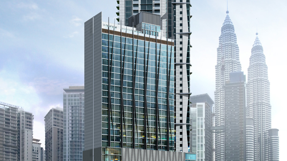 Crowne Plaza Kuala Lumpur City Centre Rendering