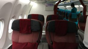 Garuda Indonesia business class B737-800
