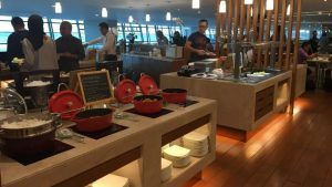 Garuda lounge at Jakarta International T3