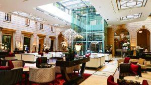 Palais Hansen Kempinski Vienna lobby lounge