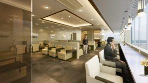 Japan Airlines' Bangkok Airport Sakura Lounge