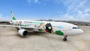 "Eva Air's ""Bad Badtz-Maru"" A330-300 livery"